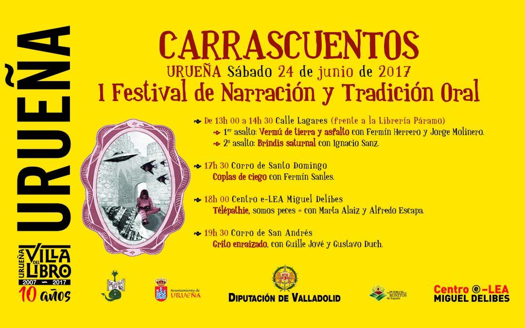 Carrascuentos. I Festival de Narración y Tradición oral