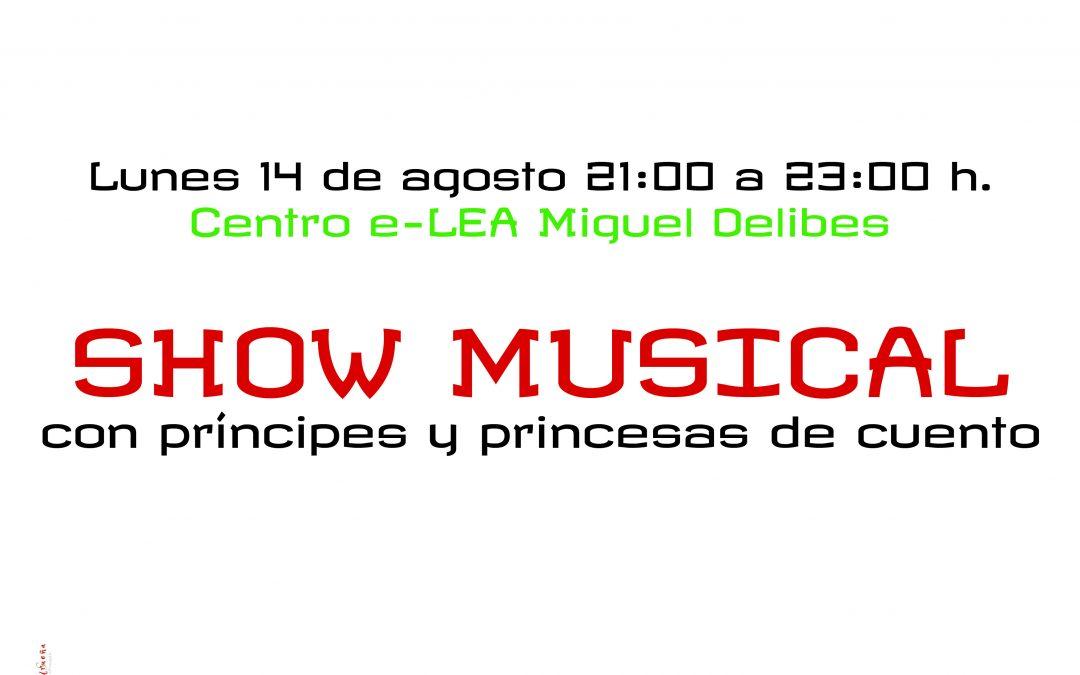 Show musical con príncipes y princesas