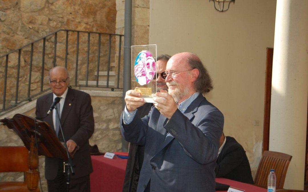 Entrega premio Antropología a Joaquín Díaz